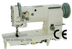 HIGHLEAD GC20618-2  Twin Needle Walking Foot Machine