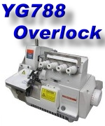 click here to see Our YG788 Overlock Machine